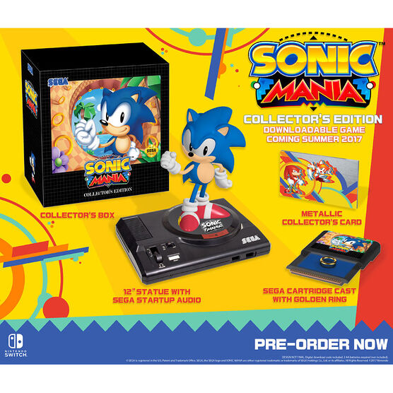 Nintendo Switch Sonic Mania: Collectors Edition - Download Code
