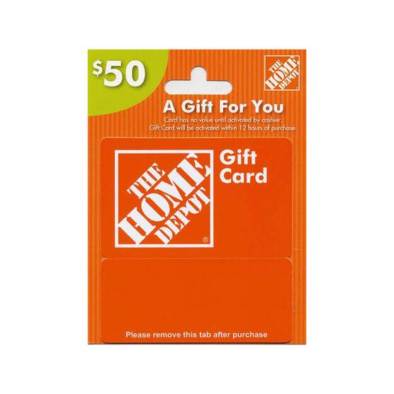 Home Depot Gift Card - $50