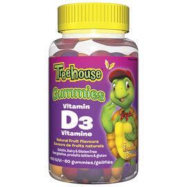 Treehouse Gummies Vitamin D3 - 60's