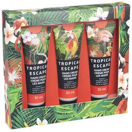 Tropical Escape Hand Cream - Coconut Frangipani - 3 x 120g