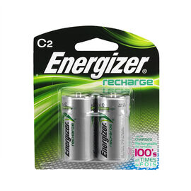 Energizer NH 35BP-2 - Battery - Rechargeable - C - NiMH x 2 - 2200 mAh