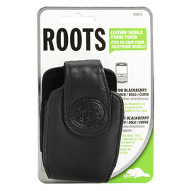 Roots Cell Case for BlackBerry Curve - Black - RSMT2BK