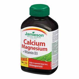 Jamieson Calcium Magnesium + Vitamin D3 -100's