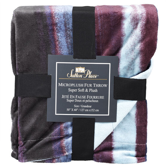 Sutton Place Horizon Throw - Assorted