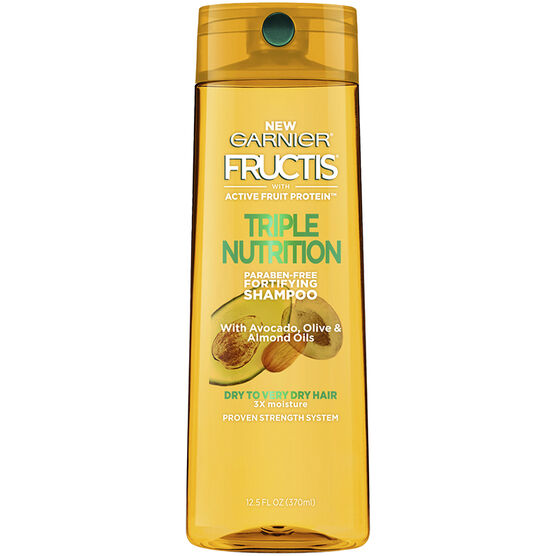 Garnier Fructis Triple Nutrition Shampoo - 370ml