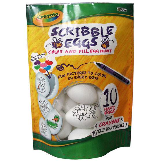 Crayola Scribble Eggs - 50g