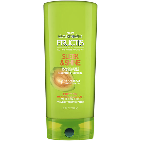 Garnier Fructis Sleek & Shine Conditioner - 621ml