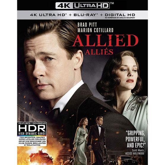 Allied - 4K UHD Blu-ray