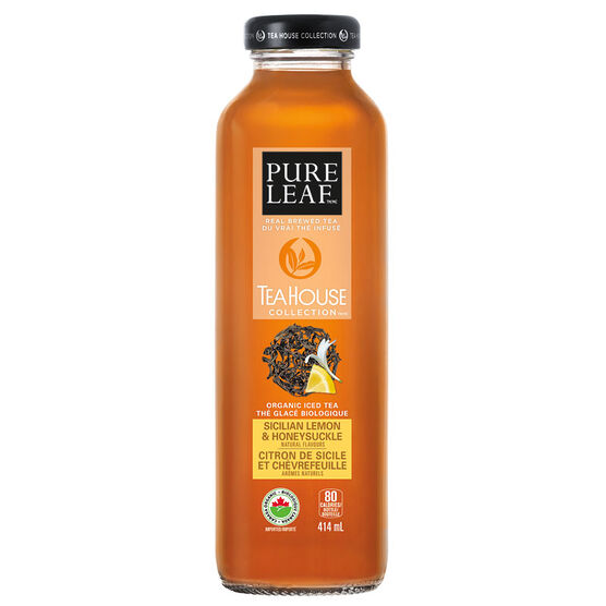 Pure Leaf Tea House Collection - Sicilian Lemon & Honeysuckle - 414ml