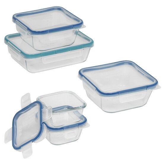 Snapware Total Solution Glass Food Storage - 10 piece Set