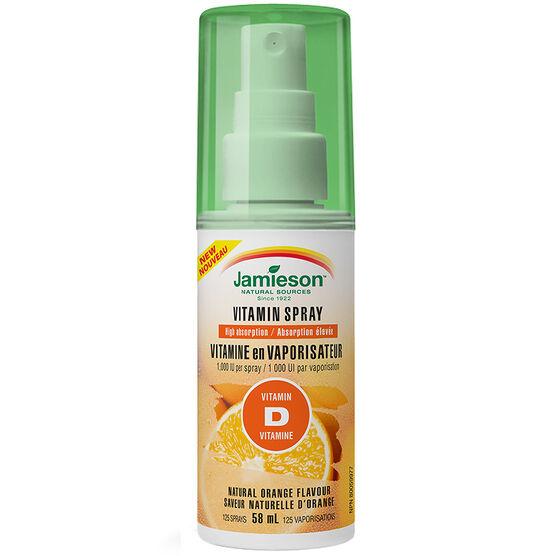 Jamieson Vitamin Spray Vitamin D - Orange - 58ml