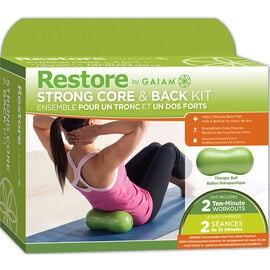 Gaiam Restore Strong Core & Back Kit - DVD