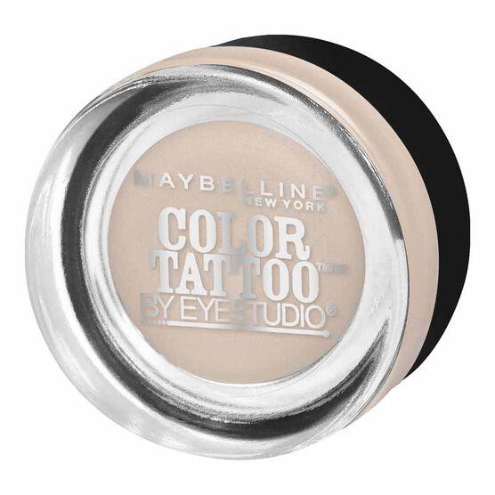 Maybelline EyeStudio Color Tattoo Metal Eyeshadow - Barely Branded