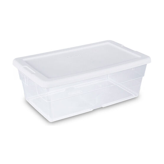 Sterilite Storage Box - Clear - 5.7L