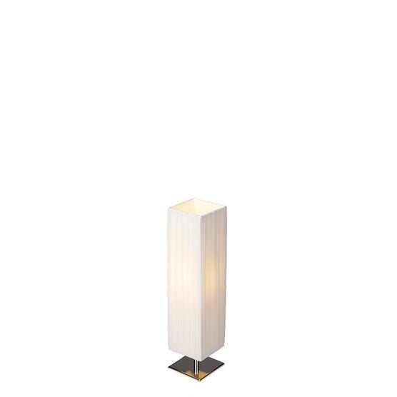 London Drugs Linen/Cotton Table Lamp - 14 x 14 x 57.5cm