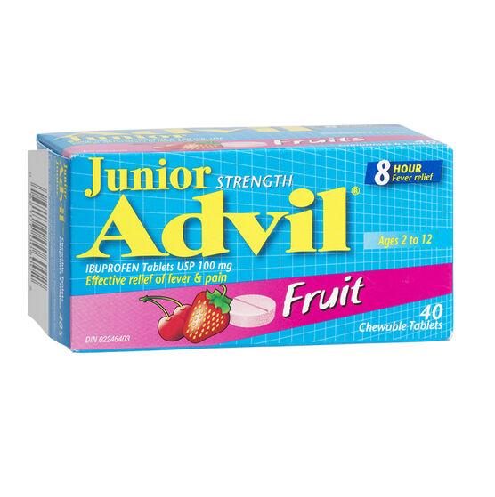 Advil Junior Strength Advil Chewables - Fruit - 40's
