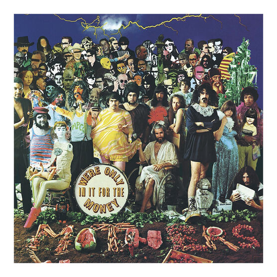 The Mothers of Invention - We're Only in It for the Money - Vinyl