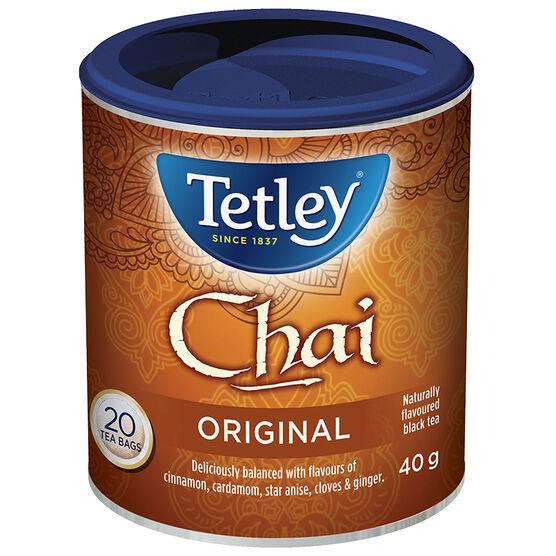 Tetley Tea - Chai - 20's