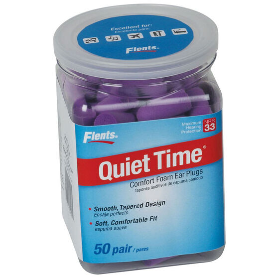 Flents Quiet Time Soft Comfort Ear Plugs - 50's