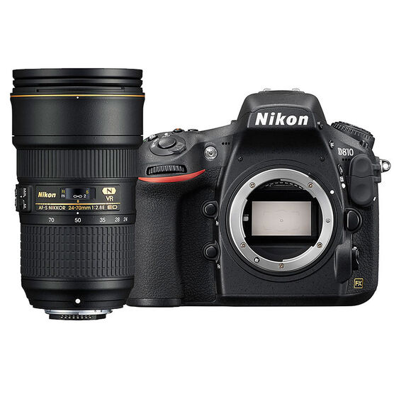 Nikon D810 FX Body with 24-70mm VR Lens