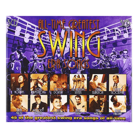 Various Artists - All-Time Greatest Swing Era Songs - 3 CD