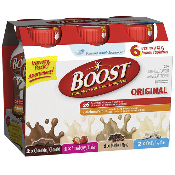 Boost Drink - Variety Pack - 6 x 237ml