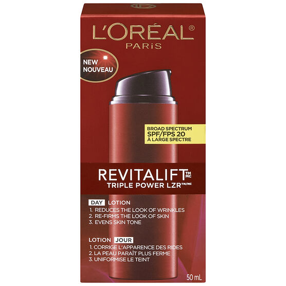 L'Oreal Revitalift Triple Power LZR Day Lotion SPF 20 - 50ml
