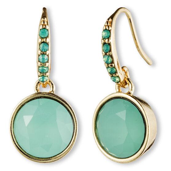 Lonna Lilly Hoop Drop Earrings