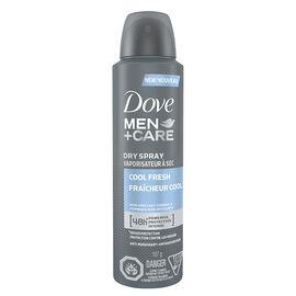Dove Men+Care Dry Spray Antiperspirant - Cool Fresh - 107g
