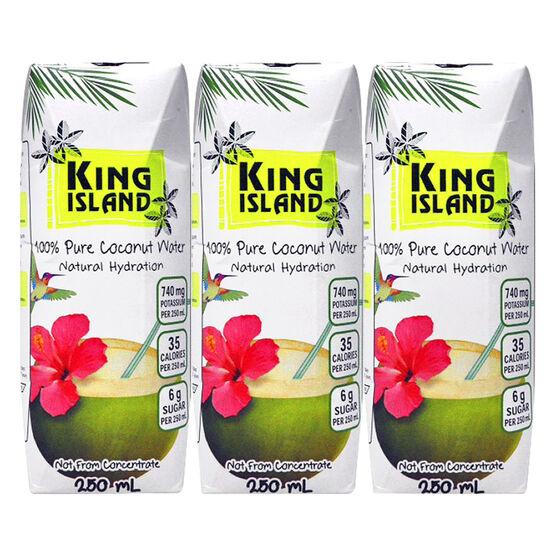 King Island Coconut Water - 3 x 250ml