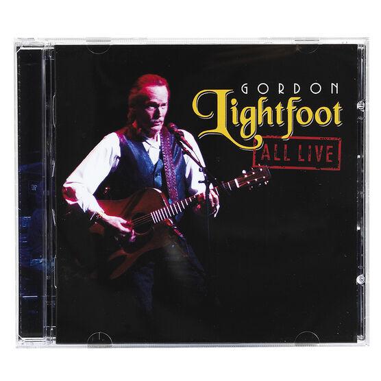 Gordon Lightfood - All Live - CD