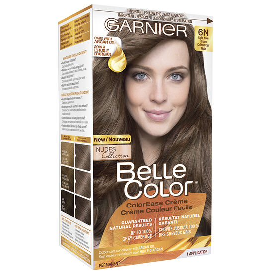 Garnier Belle Color Haircolour - 6N Light Nude Brown