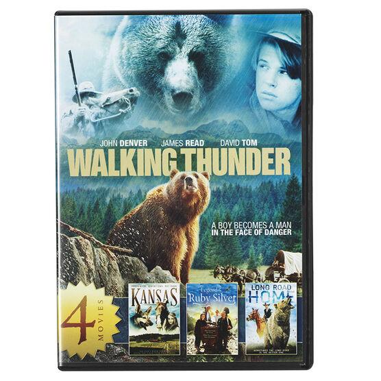 4-Movie Family Adventure Collection Volume 1 - DVD