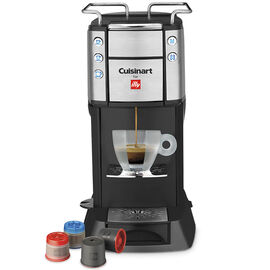 Cuisinart Espresso & Coffeemaker - Black & Stainless Steel - EM-400C