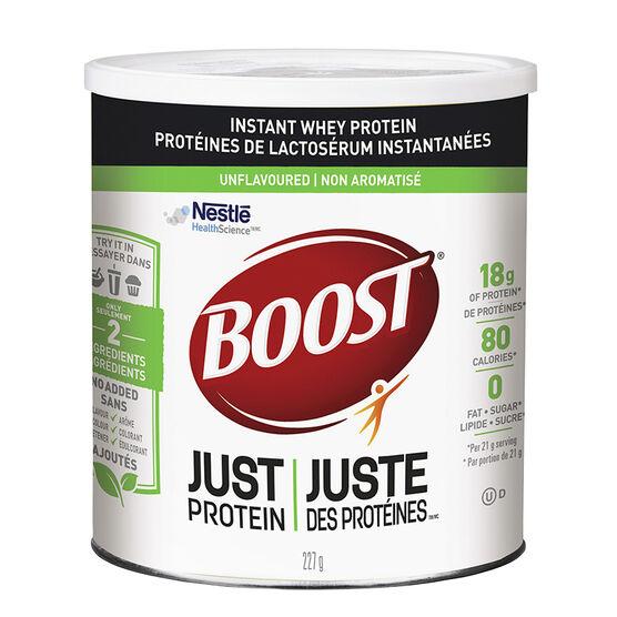 Boost Just Protein Whey Powder - Unflavoured - 227g