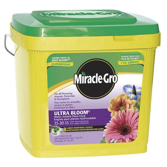 Miracle Gro Water Soluble Ultra Bloom Plant Food - 1.71kg
