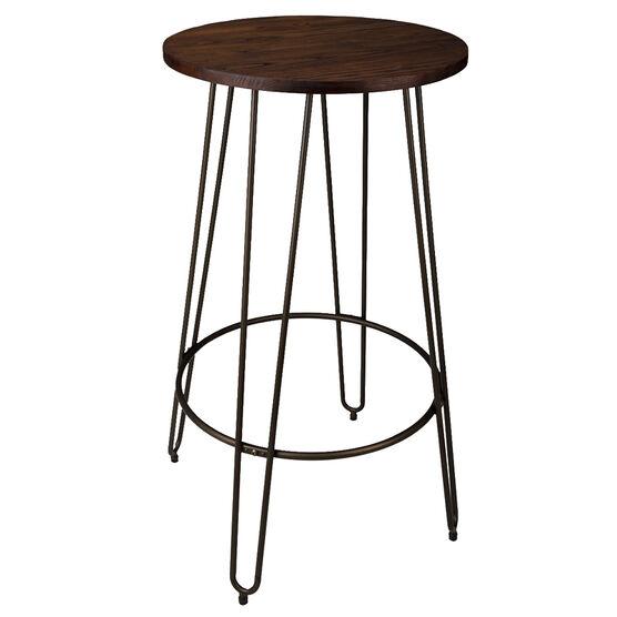 London Drugs Elmwood Bar Table with Metal Legs - 60 x 105cm