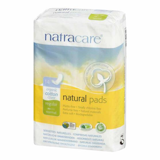 Natracare Natural Maxi Pads  - 14's