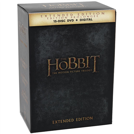 The Hobbit Trilogy (Extended Edition) - DVD