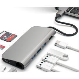 Satechi USB-C Multiport Adapter Hub - Space Grey - ST-TCMAM