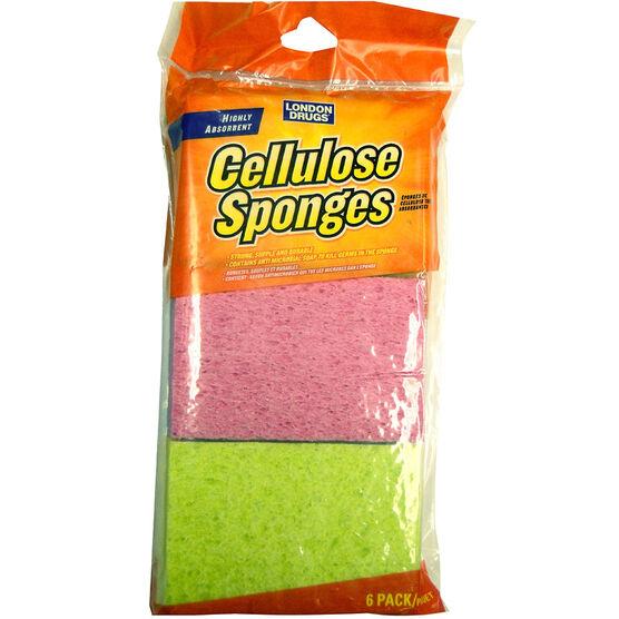 London Drugs Cellulose Sponges - 6's