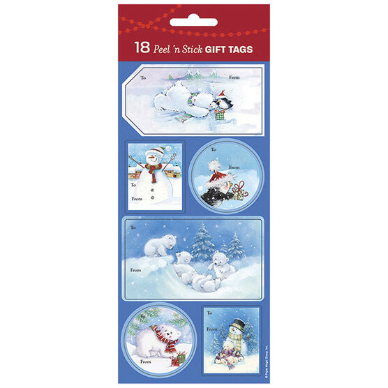 Christmas Characters Gift Tags - 18s