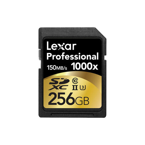 Lexar Professional 1000X - 256GB SDXC - LSD256GCRBNA1000
