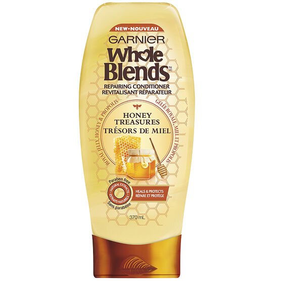 Garnier Whole Blends Repairing Conditioner - Honey Treasures - 370ml