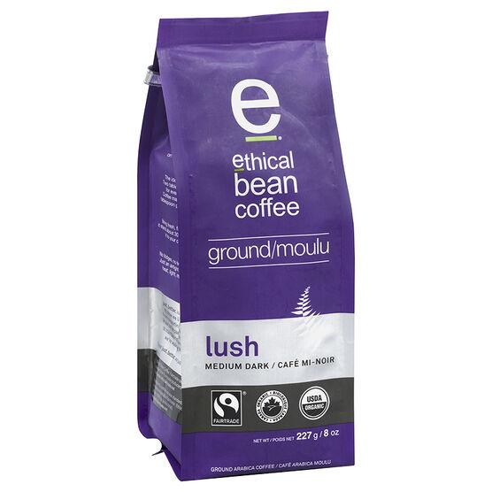 Ethical Bean Ground Coffee - Lush - 227g