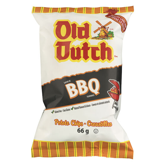 Old Dutch Barbeque Chips - 66g