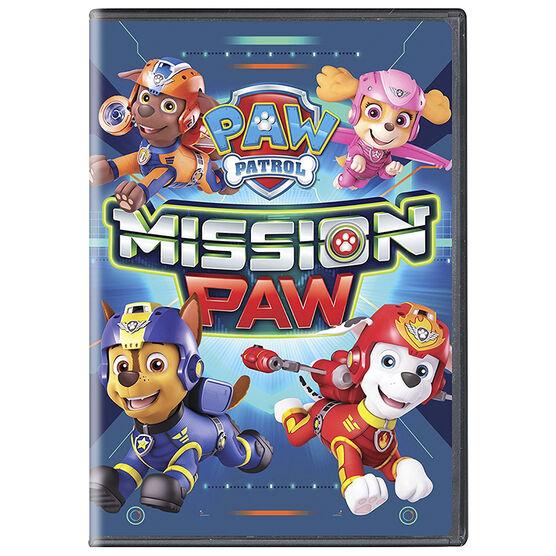 PAW Patrol: Mission PAW - DVD