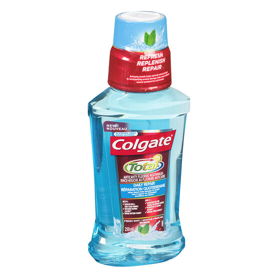 Colgate Total Daily Repair Mouthwash - Fresh Mint - 250ml