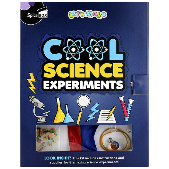 Spicebox Let's Make - Cool Science Experiments