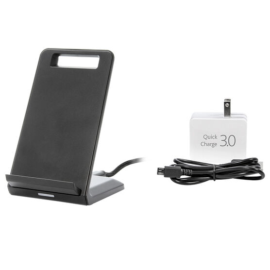 iQ Wireless Charging Stand - Black - IQWCS1